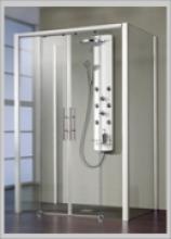 duschkabine u form duschabtrennung u form g nstig online. Black Bedroom Furniture Sets. Home Design Ideas