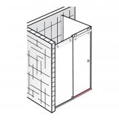 ersatzteile atelier et atelier gleittuer 2 teilig mit. Black Bedroom Furniture Sets. Home Design Ideas
