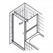 haus bauen dusche seitenwand. Black Bedroom Furniture Sets. Home Design Ideas