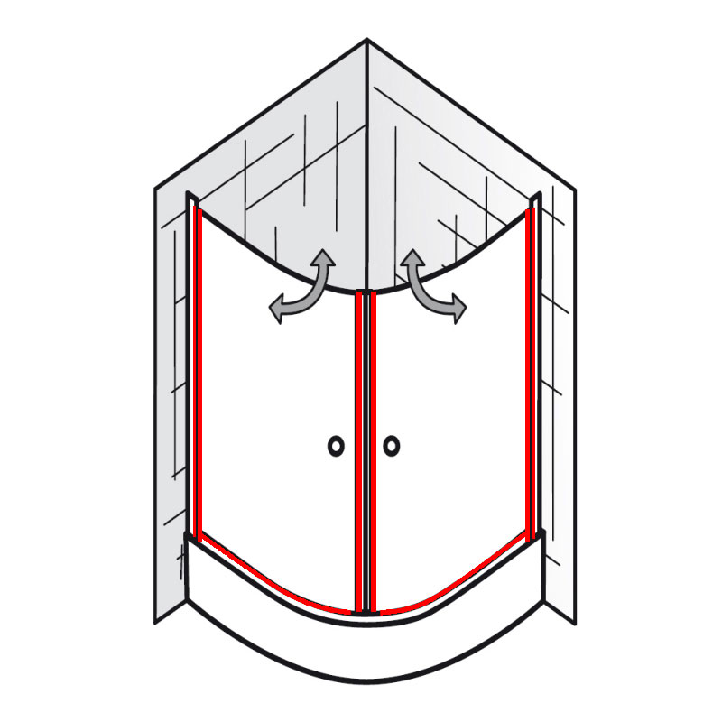 hochwertige baustoffe breuer duschkabine ersatzteile dichtung. Black Bedroom Furniture Sets. Home Design Ideas