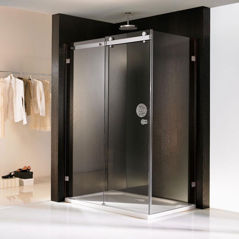 hsk duschkabine atelier pur gleitt r mit seitenwand. Black Bedroom Furniture Sets. Home Design Ideas