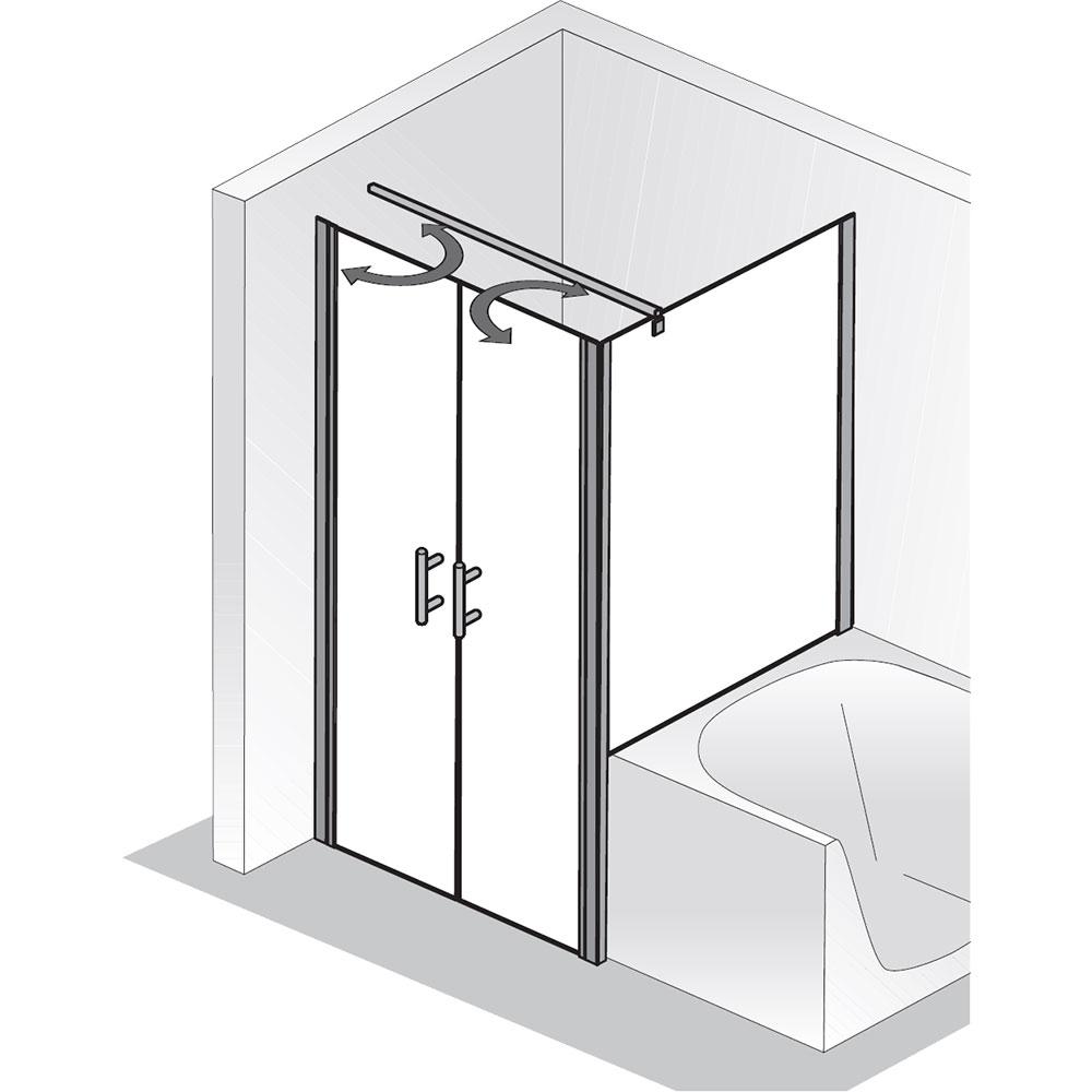 hsk favorit nova pendelt r mit verk rzter seitenwand. Black Bedroom Furniture Sets. Home Design Ideas