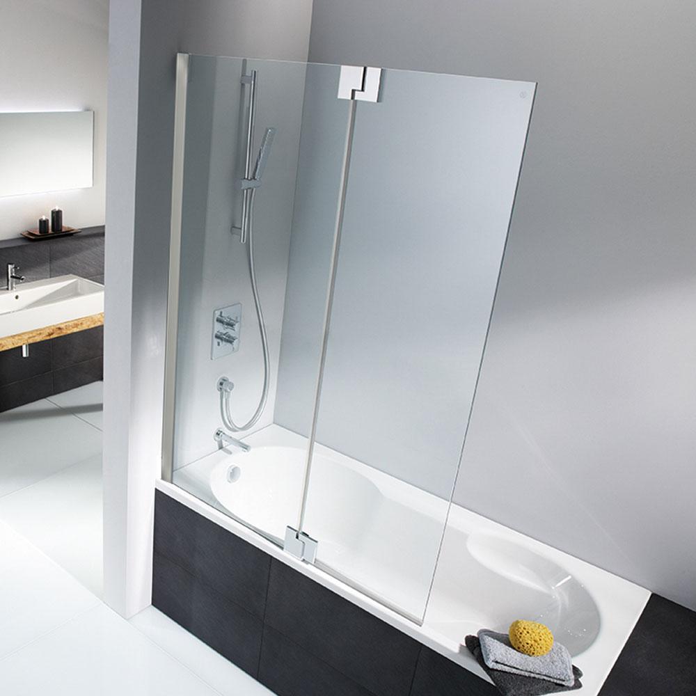 hsk badewannenaufsatz k2p 2 teilig festteil mit schwingelement. Black Bedroom Furniture Sets. Home Design Ideas