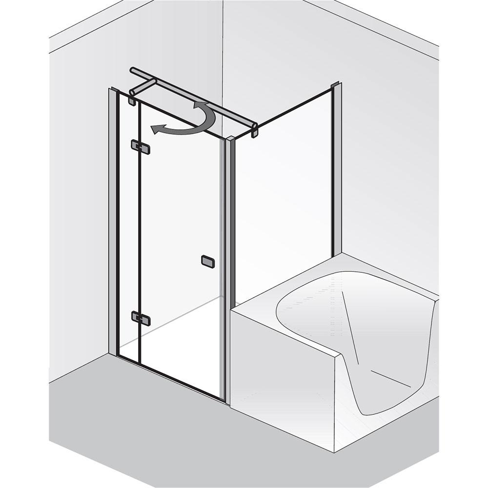 hsk premium softcube pendelt r mit verk rzter seitenwand. Black Bedroom Furniture Sets. Home Design Ideas