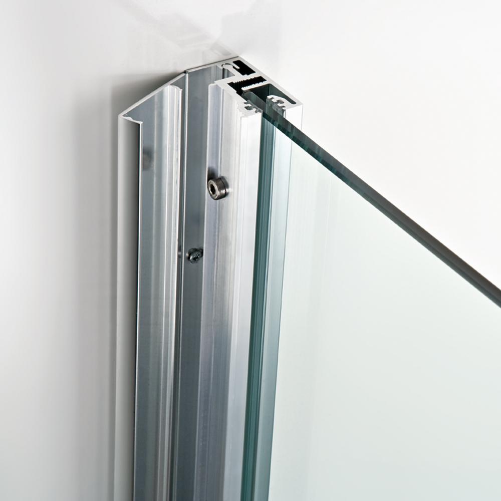 Dusche Freistehende Glaswand : HSK Walk In Dusche ? Atelier, 1710090-1730090 Frontelement mit