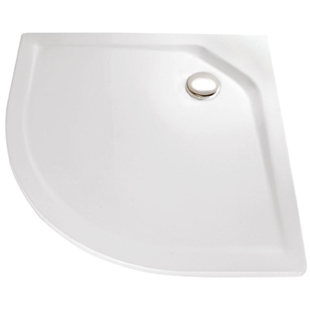 hsk duschwanne viertelkreis acryl super flach standardfarben 505080 standardfarben. Black Bedroom Furniture Sets. Home Design Ideas