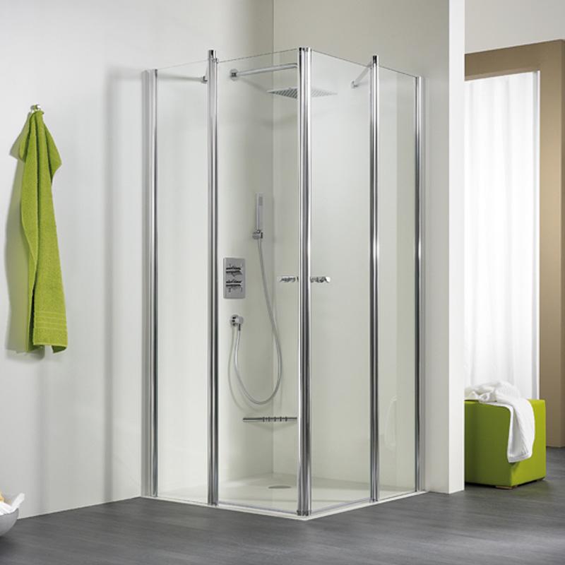 hsk duschkabine eckeinstieg 4 teilig exklusiv 425010. Black Bedroom Furniture Sets. Home Design Ideas