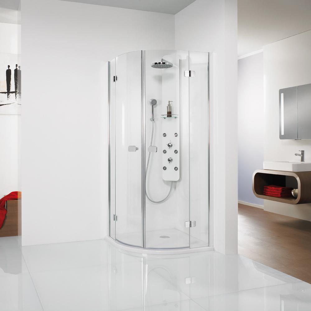 hsk premium softcube runddusche 4 teilig viertelkreis dusche. Black Bedroom Furniture Sets. Home Design Ideas