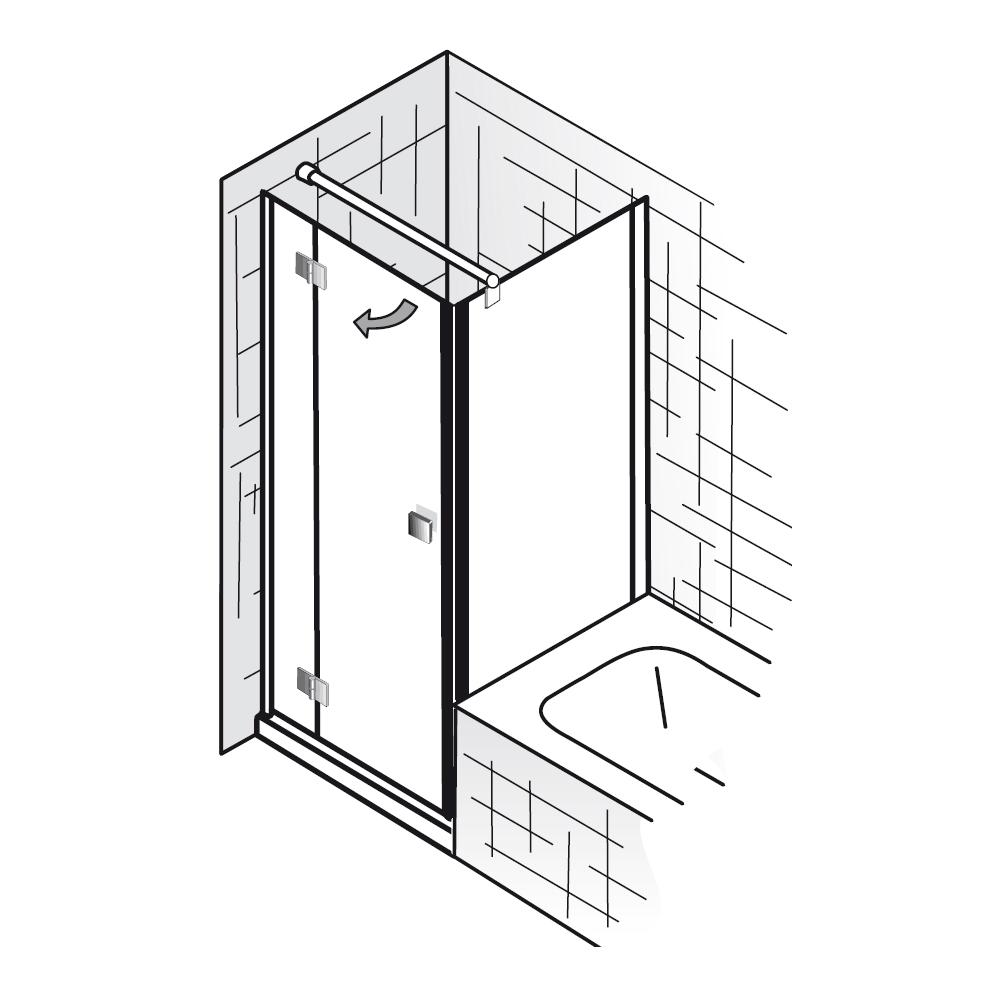 hsk duschkabine atelier 177075 1791075 dreht r mit. Black Bedroom Furniture Sets. Home Design Ideas