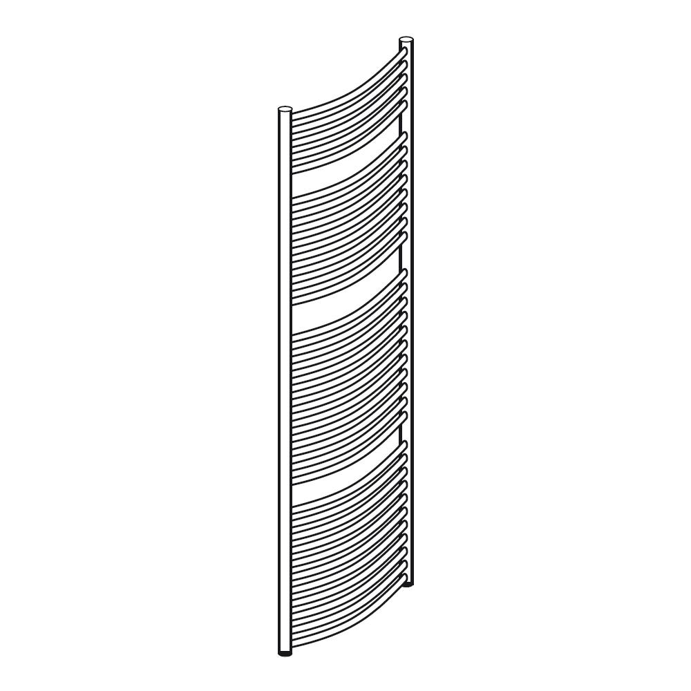 hsk handdoek radiator line round 030717 ontwerp inspiratie voor de badkamer en de. Black Bedroom Furniture Sets. Home Design Ideas