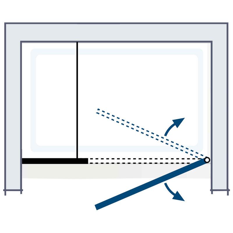 k2p dreht r und nebenteil f r nischenmontage. Black Bedroom Furniture Sets. Home Design Ideas