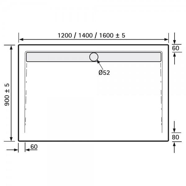 ablaufrinne dusche flach ls62 kyushucon. Black Bedroom Furniture Sets. Home Design Ideas