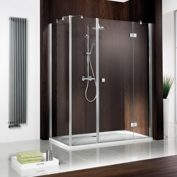 HSK Atelier Duschkabine mit Eckeinstieg und Drehtür