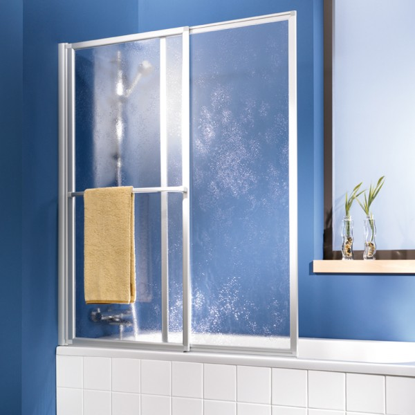 HSK Badewannenaufsatz Favorit Schiebeelement, Kunstglas