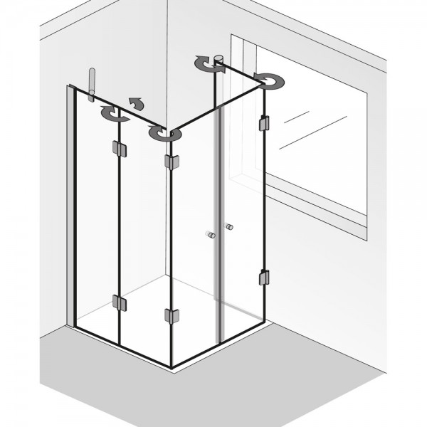 HSK Aperto Fensterlösung pendelbar