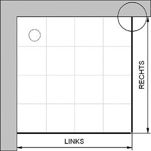 hsk eck duschkabine eckeinstieg mit drehfaltt r exklusiv 426010. Black Bedroom Furniture Sets. Home Design Ideas