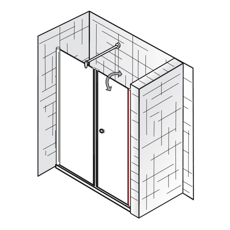 au endichtung et exklusiv raumnische 2 teilig ersatzteile exklusiv ersatzteile hsk. Black Bedroom Furniture Sets. Home Design Ideas