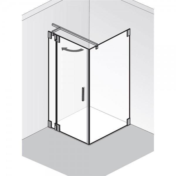 HSK K2.23 Tür an Nebenteil mit Seitenwand