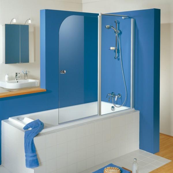 HSK Badewannenaufsatz Exklusiv 2-teilig mit Festelement
