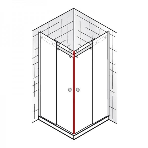 Magnete 45°