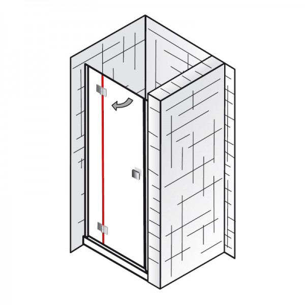 dichtung vertikal et atelier dreht r in nische. Black Bedroom Furniture Sets. Home Design Ideas