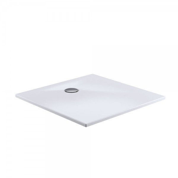 HSK Duschwanne quadratisch - Duschtrasse Marmor Polymer, plan