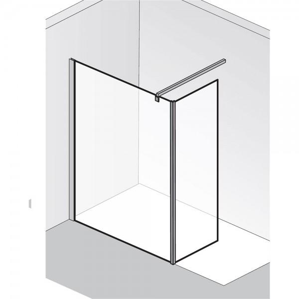 HSK Walk In Atelier Frontelement mit Seitenteil