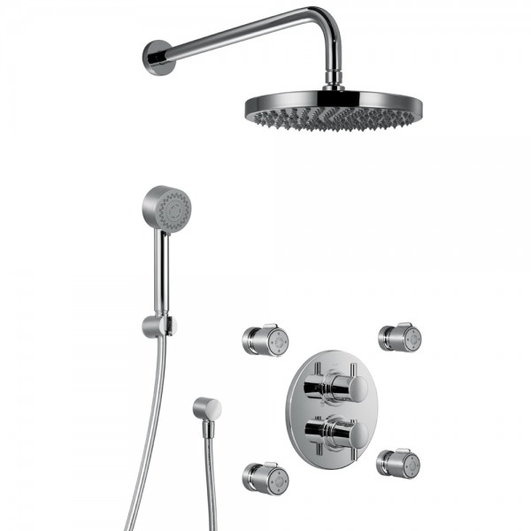 hsk shower set 1 07 1000107 duschbrause shower set. Black Bedroom Furniture Sets. Home Design Ideas