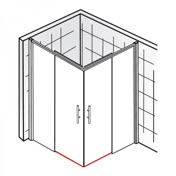 wasserabweisprofil et solida eckeinstieg 4 teilig. Black Bedroom Furniture Sets. Home Design Ideas