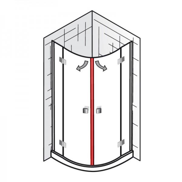 magnet et atelier runddusche 4 teilig ersatzteile. Black Bedroom Furniture Sets. Home Design Ideas