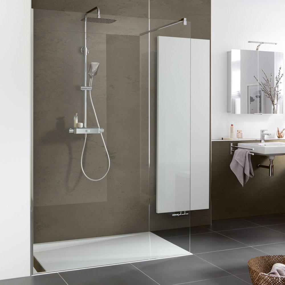 rahmenlose duschkabine aus glas nach ma inkl aufma service vor ort. Black Bedroom Furniture Sets. Home Design Ideas