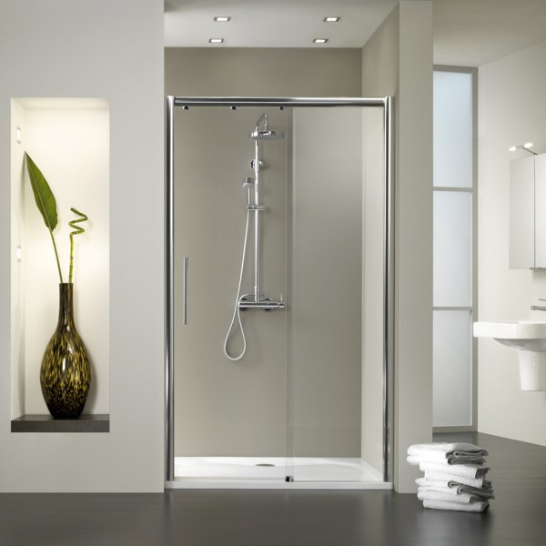 hsk solida gleitt r f r duschnischen 2 teilig bodenfrei. Black Bedroom Furniture Sets. Home Design Ideas