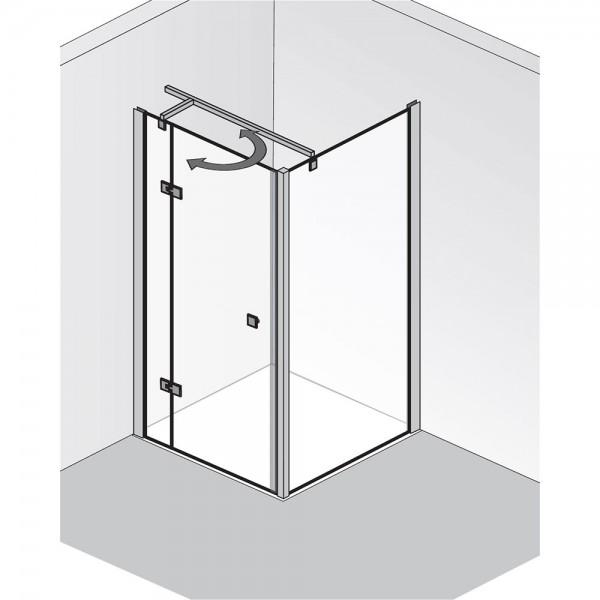 HSK Atelier Drehtür pendelbar mit Seitenwand
