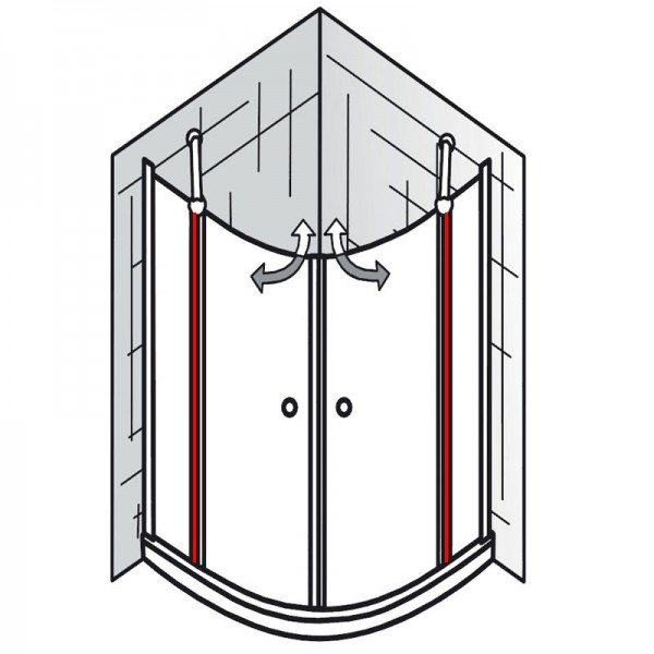 au endichtung et exklusiv runddusche 4 teilig ersatzteile exklusiv ersatzteile hsk. Black Bedroom Furniture Sets. Home Design Ideas