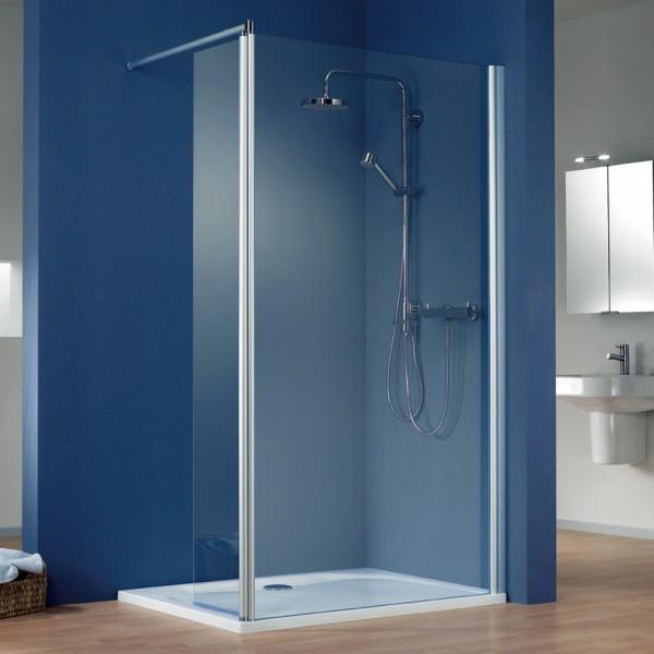 hsk walk in dusche easy 1 eckversion mit schwenkbarem seitenteil. Black Bedroom Furniture Sets. Home Design Ideas