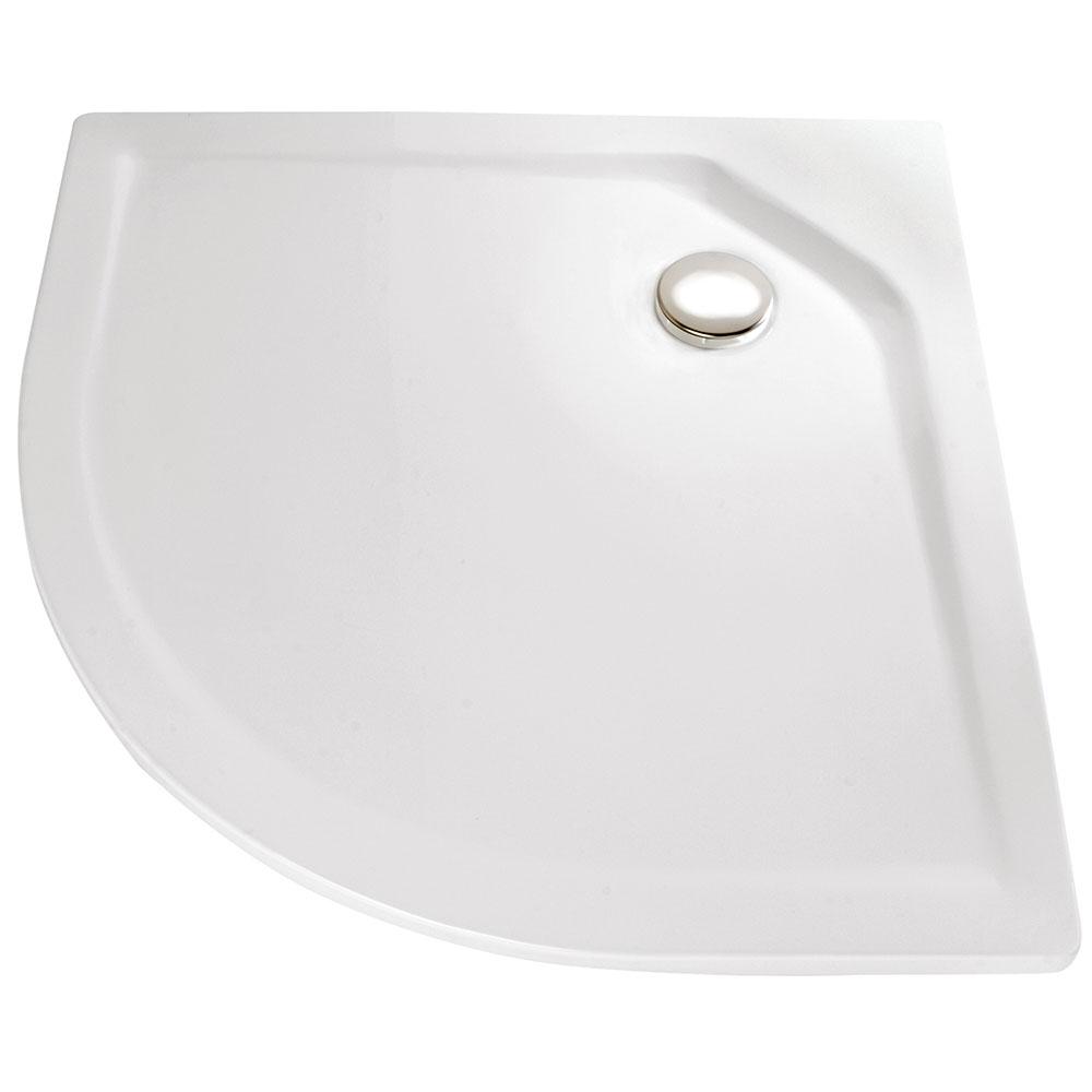 hsk duschwanne viertelkreis 505080 duschtasse acryl super flach. Black Bedroom Furniture Sets. Home Design Ideas