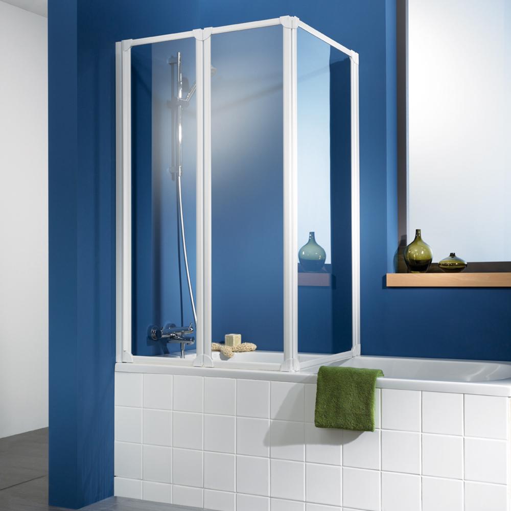 hsk badewannenaufsatz prima eckfaltwand 3 teilig kunstglas. Black Bedroom Furniture Sets. Home Design Ideas