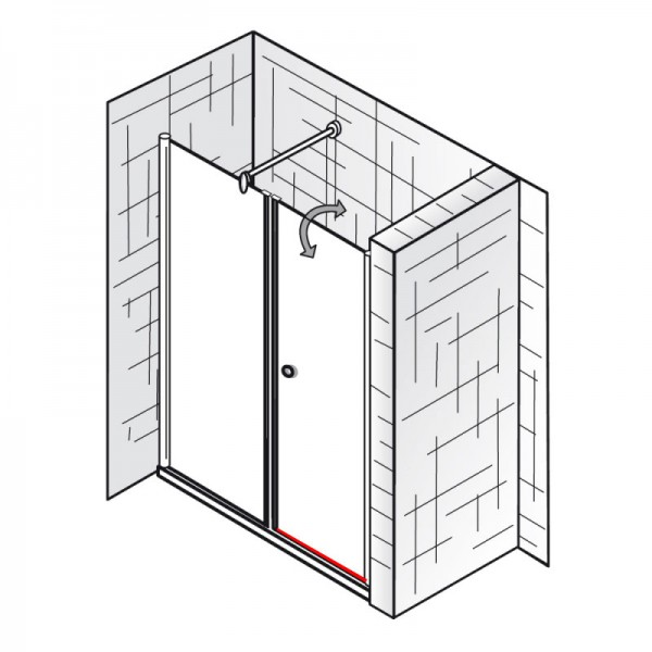 wasserabweisprofil inkl endkappe einschubdichtung et exklusiv raumnische 2 teilig. Black Bedroom Furniture Sets. Home Design Ideas