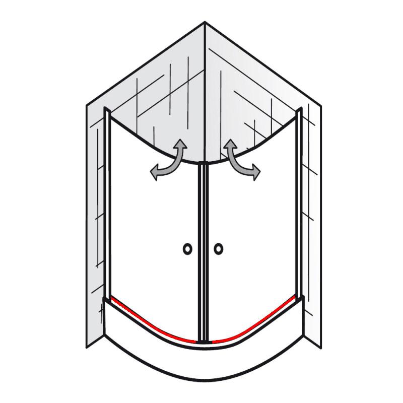 wasserabweisprofil inkl endkappen einschubdichtung et. Black Bedroom Furniture Sets. Home Design Ideas