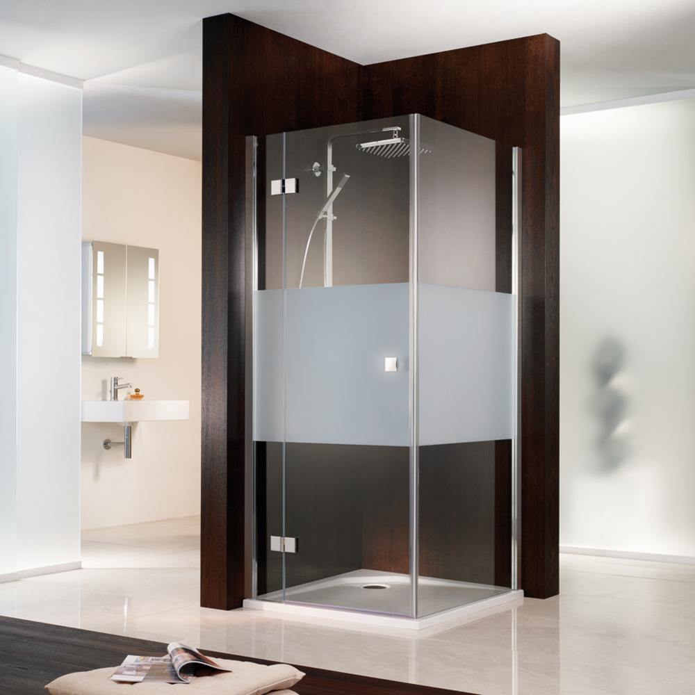 hsk atelier eck duschkabine mit dreht r seitenwand aus glas. Black Bedroom Furniture Sets. Home Design Ideas