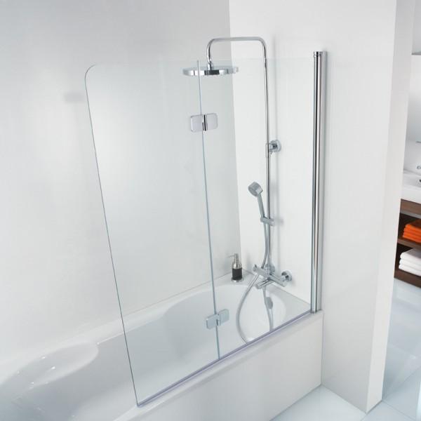 HSK Badewannenaufsatz Premium Softcube 2-teilig