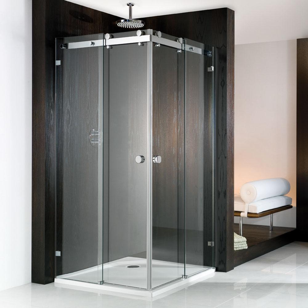 hsk eckeinstieg mit gleitt r duschkabine atelier pur. Black Bedroom Furniture Sets. Home Design Ideas