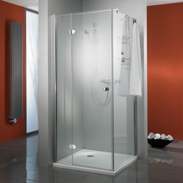 HSK Premium Classic Duschkabine mit Seitenwand & Eckeinstieg
