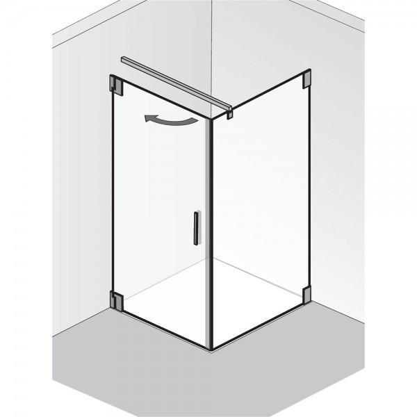 HSK K2.20 Tür mit Seitenwand