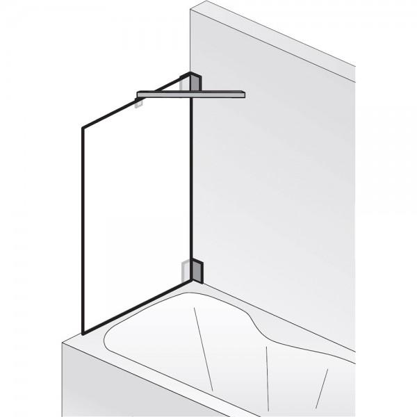HSK Seitenwand zu Badewannenaufsatz K2