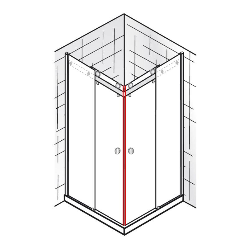 magnete 45 et atelier gleitt r eckeinstieg 4 teilig. Black Bedroom Furniture Sets. Home Design Ideas