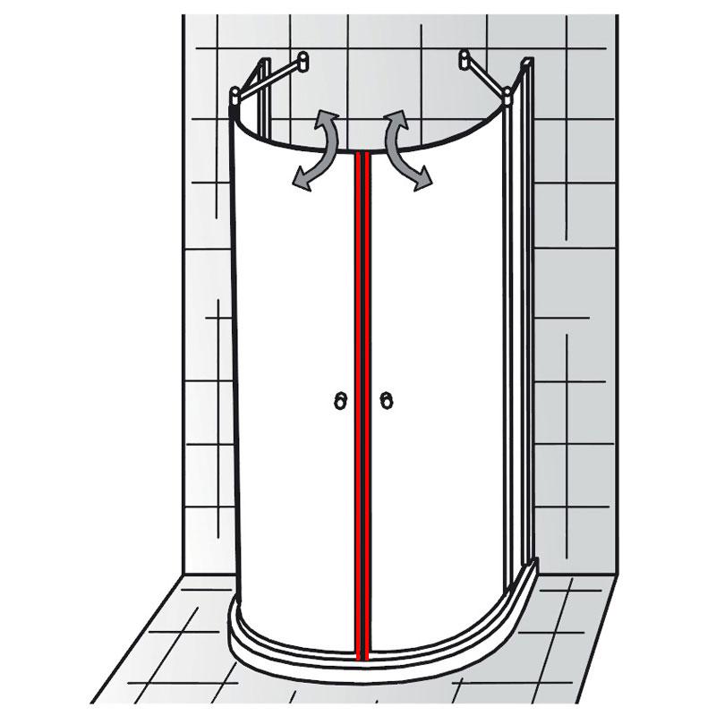 magnet set et exklusiv runddusche halbkreis ersatzteile exklusiv ersatzteile hsk. Black Bedroom Furniture Sets. Home Design Ideas
