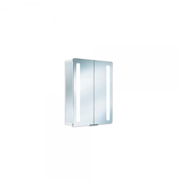 HSK ASP Softcube, 60 x 75 cm, Spiegelschrank Aluminium