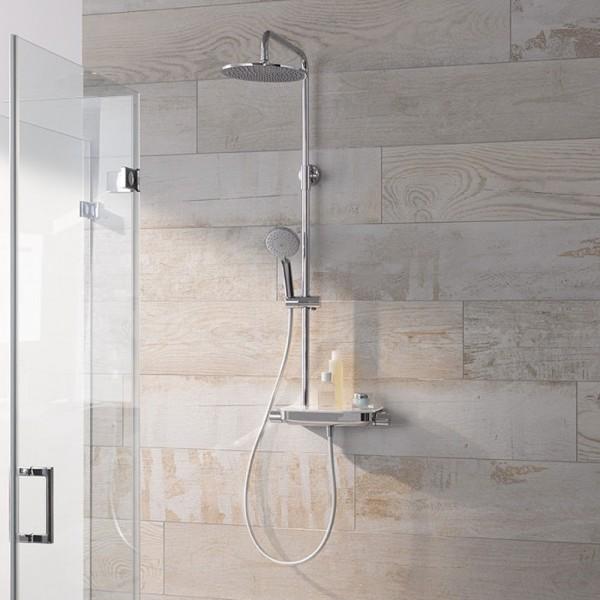 HSK Shower-Set AquaTray RS 200 Thermostat