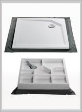 duschwannen duschtassen und duschbecken in flach superflach und bodengleich. Black Bedroom Furniture Sets. Home Design Ideas